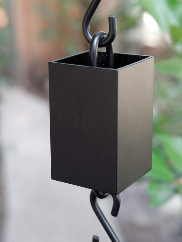 Kenchiku Cups Powder Coated Black Aluminum 1